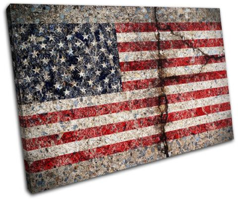 Abstract American Maps Flags - 13-1502(00B)-SG32-LO